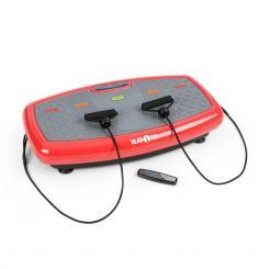 Vib 1000 Vibrationsplatte 5 Modi einstellbare Dauer & Intensität rot Rot