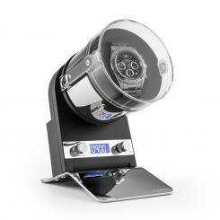 Montreaux Uhrenbeweger Netz- oder Batteriebetrieb 650-3000 TPD schwarz