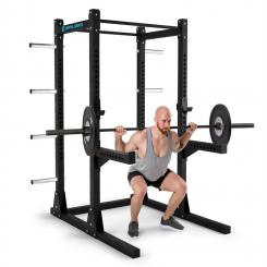 Bestride Power Rack 2 Safety-Spotter 2 J-Cups 2 Pull Up-Bars