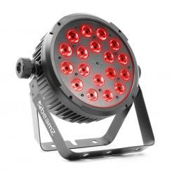 BT320 LED Flat Par LED-Strahler 18x6W 4in1-LEDs RGBW Fernbedienung
