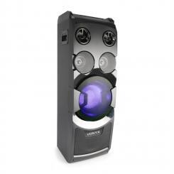 PLAY1000 Partylautsprecher USB BT AUX-, Gitarren- und Mikrofoneingänge