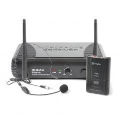 STWM711H Mikro Headset VHF-Technik Sender, Empfänger und Headset schwarz
