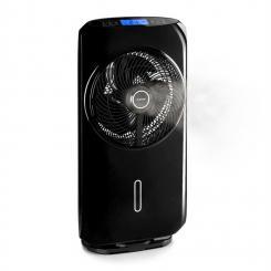 Cool Tropic Standventilator mit Luftbefeuchter 48W 2820m³/h schwarz Schwarz