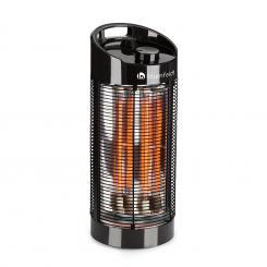 Heat Guru 360 Standheizstrahler 1200/600W 2 Heizstufen IPX4