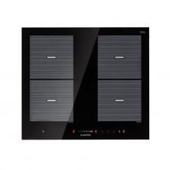 Virtuosa Flex 60 Induktions-Kochfeld 4 Zonen 1800 W Kochfeld: 60 x 52 cm Flexzonen Timer Glaskeramik 4