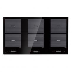 Virtuosa Flex 90 Induktions-Kochfeld 6 Zonen 1800 W Kochfeld: 90 x 52 cm Flexzonen Timer Glaskeramik 6