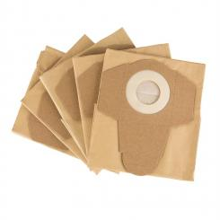 Staubsaugerbeutel für Reinraum 2G Nass-Trockensauger 5 Stück Papier