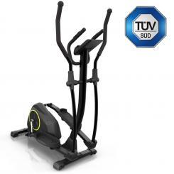 Epsylon Cross AS Crosstrainer, 12 kg Schwungmasse, Riemenantrieb schwarz Epsylon_Cross_Cross_Trainer