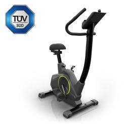 Epsylon Cycle Heimtrainer, 12 kg Schwungmasse, Riemenantrieb, schwarz Epsylon_Cycle_Ergometer
