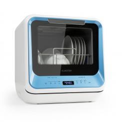 Amazonia Mini Geschirrspülmaschine 6 Programme LED-Display blau Blau