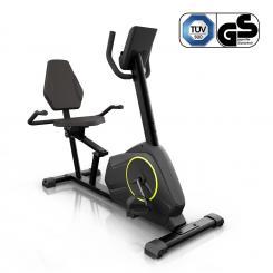 Epsylon Relax Fahrrad-Heimtrainer 12kg Schwungmasse PulseControl schwarz Epsylon Relax (Relax Bike)