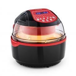 VitAir Turbo Smart Heißluftfritteuse, 1400 W, 10l, 20 Programme, rot Rot
