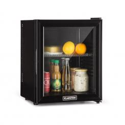 Brooklyn 24L Kühlschrank A LED Kunststoff-Einsatz Glastür schwarz Schwarz | 24 Ltr
