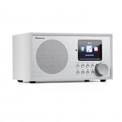 Silver Star Mini Internet DAB+/UKW Radio, WiFi, BT, DAB+/UKW, weiß Weiß