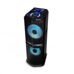 "Clubmaster 8000 Party-Audiosystem, bis zu 8000 Watt P.M.P.O, 2 x 10"" Woofer 2 x 10"" Subwoofer"