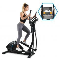 Helix Track Cross Trainer Bluetooth App 18kg Schwungmasse Schwungmasse: 18 kg