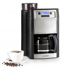 Aromatica II Kaffeemaschine, Mahlwerk, 1,25 l, silber Silber | Glaskanne
