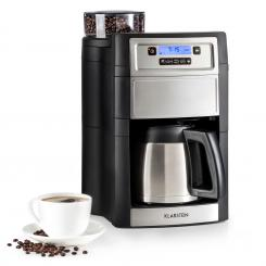 Aromatica II Thermo Kaffeemaschine, Mahlwerk, 1,25 l, silber Silber | Thermoskanne