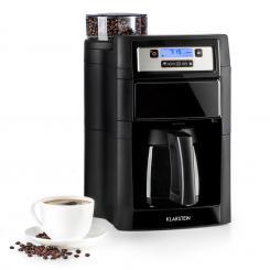 Aromatica II Thermo Kaffeemaschine, Mahlwerk, 1,25 l, schwarz Schwarz | Thermoskanne