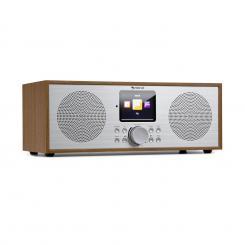 Silver Star Stereo Internet DAB+/UKW Radio, WiFi, BT, DAB+/UKW, Eiche Eiche