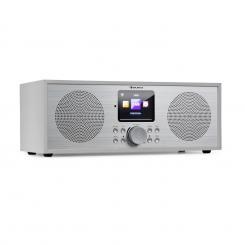 Silver Star Stereo Internet DAB+/UKW Radio, WiFi, BT, DAB+/UKW, weiß Weiß