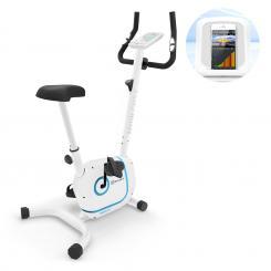 Myon Cycle Heimtrainer 12kg Schwungmasse SmartCardio Studio schwarz Weiß