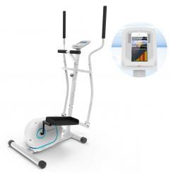 Myon Cross Crosstrainer 12kg Schwungmasse SilentBelt System weiß Weiß