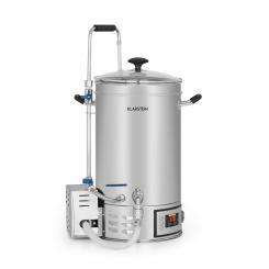 Brauheld Maischekessel 15 Liter 30-140°C Umwälzpumpe Edelstahl 15 Ltr