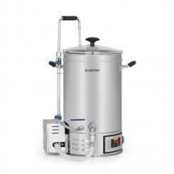 Brauheld Maischekessel 30 Liter 30-140°C Umwälzpumpe Edelstahl 30 Ltr
