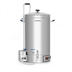 Brauheld Maischekessel 45 Liter 30-140°C Umwälzpumpe Edelstahl 45 Ltr