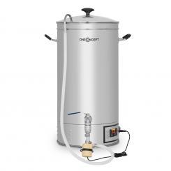 Hopfengott Maischekessel 15 Liter 30-140°C Umwälzpumpe Edelstahl 15 Ltr