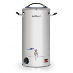 Braufreund 30 Maischekessel Getränkespender 30 Liter 30-110°C Edelstahl 30 Ltr