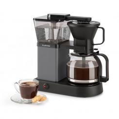 GrandeGusto Kaffeemaschine 1690W 1,3l Pre-Infusion 96°C schwarz Schwarz