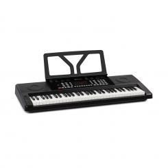 Etude 61 MK II Keyboard 61 Tasten je 300 Klänge/Rhythmen schwarz Schwarz