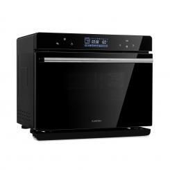 MasterFresh Dampfbackofen 230°C 24l Touch-Bedienfeld schwarz