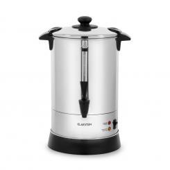 Excelsa Rundfilter-Kaffeemaschine, 30 Tassen, Ablasshahn, Edelstahl