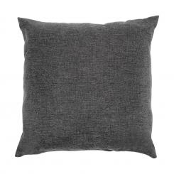 Titania Pillow Kissen 100% Polyester wasserabweisend dunkelgrau meliert Dunkelgrauu