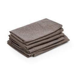 Titania Dining Set Polsterbezüge 10 Teile 100% Polyester braun Braun