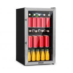 Beersafe 3XL Kühlschrank 98 L 4 Einlegeböden7 Stufen schwarz