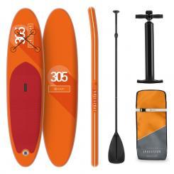 Spreestar aufblasbares Paddelboard SUP-Board-Set 305x10x77 orange Orange
