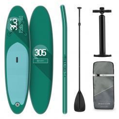 Spreestar aufblasbares Paddelboard SUP-Board-Set 305x10x77 türkis Türkis