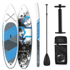 Maliko Runner aufblasbares Paddelboard SUP-Board-Set 305x10x77 blau Blau