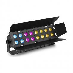 WH192 Wall Wash 100W 16x 12W 6in1 LEDs RGBWA-UV IR-Fernbedienung schwarz