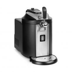 Beerkules Bierzapfanlage 5l Fässer | Kompressor | UltraFast Cooling: 4h | 120W schwarz