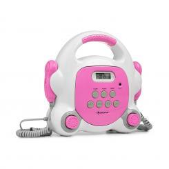Pocket Rocker BT Karaoke-Player BT USB-Port MP3 2xMikro pink Pink