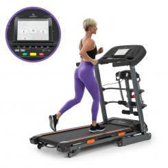 Highflyer 2.0 Advanced Laufband 4P-AntiShock Suspension Massage-Station Mit Massage-Station