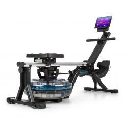 Flow M1 Wasserrudergerät 80cm stellbar LCD-Display Stahl schwarz