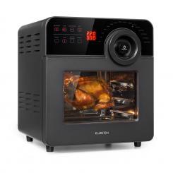 AeroVital Cube Chef Heißluftfritteuse 1700W 14l 16 Programme schwarz