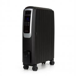 Klarstein Thermaxx Noir Ölradiator 2500W 10-30° C 24h-Timer Fernbedienung schwarz