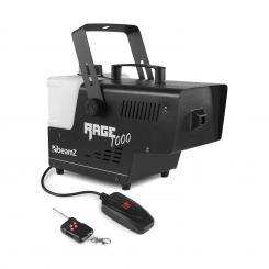 Rage 1000 Nebelmaschine mit Fernbedienung 1000W 125m³/min 2l Tankvolumen
